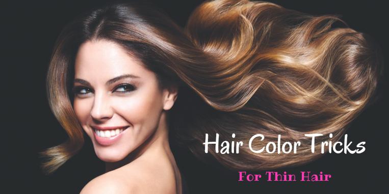 Hair Color Tricks To Make Thin Hair Look Bouncier The Brunette Diaries
