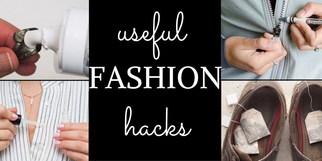 useful fashion hacks