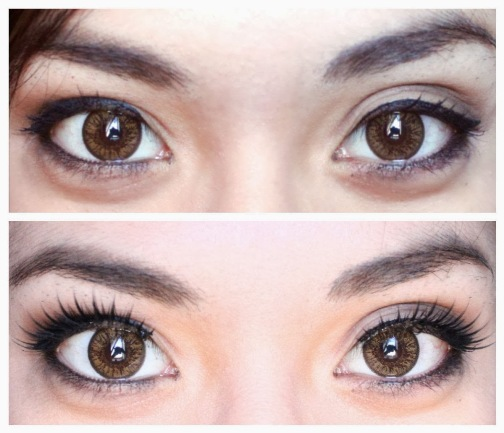 false-lashes-before-and-after