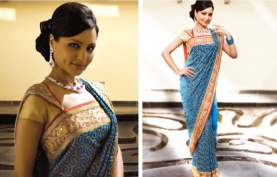 Ways To Drape A Saree Pallu