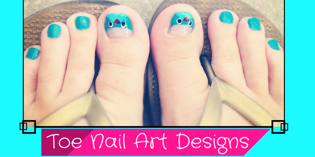 Must Try Easy And Quick Toe Nail Art Designs The Brunette Diaries