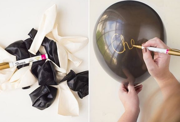 Let your girlfriends write notes on pretty balloons and have the bride guess who wrote what!
