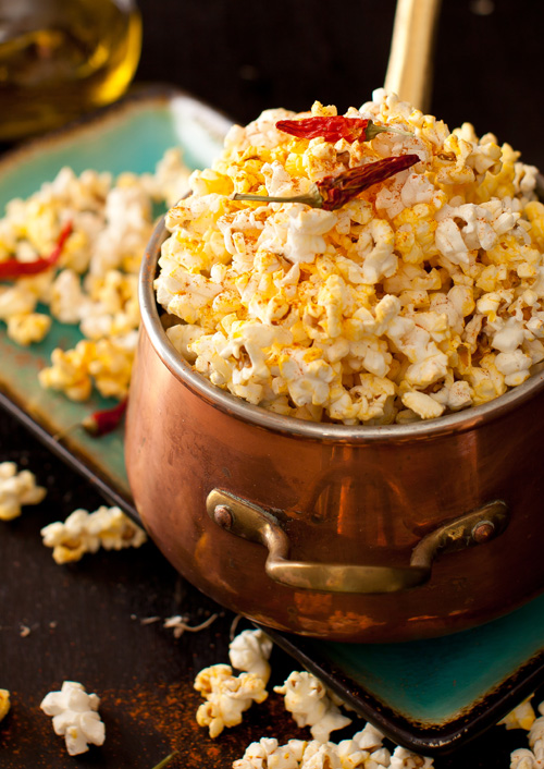 Popcorn with Garlic and Pepper 1