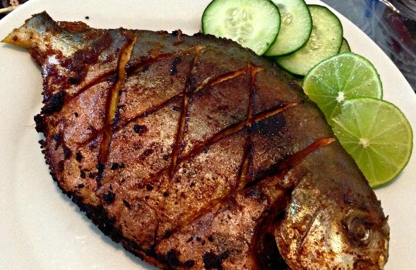 Grilled Pomfret Recipe