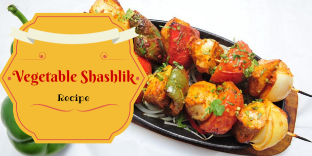 Tempting and exotic vegetable shashlik recipe the brunette diaries vegetable shashlik recipe forumfinder Image collections