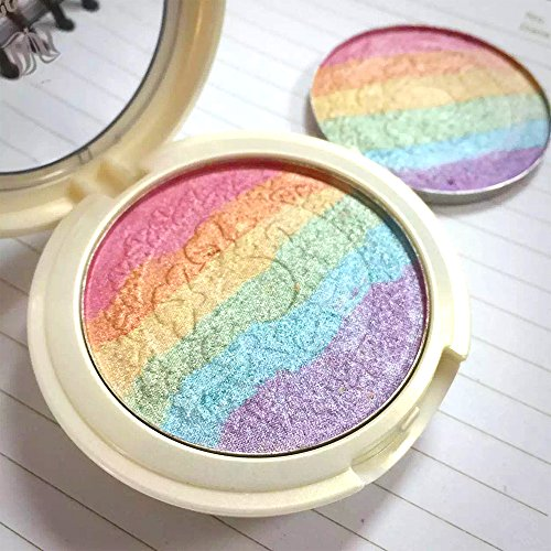 MLMSY-Baked-Rainbow-Highlighter-Makeup-Palette-Cosmetic-Blusher-Shimmer-Powder-Contour-Eyeshadow-6-colors-in-1-0-2