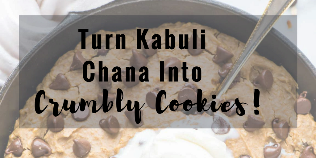Turn Chana into Crumbly Cookies!