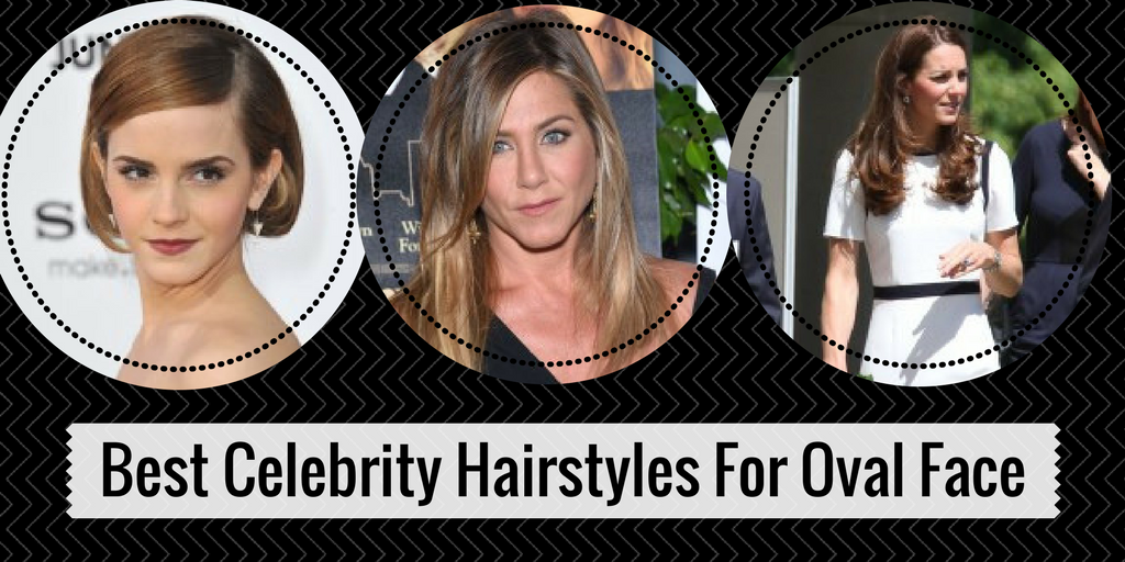 best celeb hairstyles for oval face