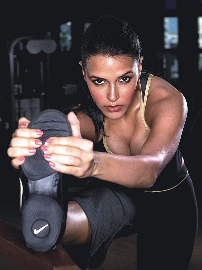 Neha Dhupia turns vegan and fit