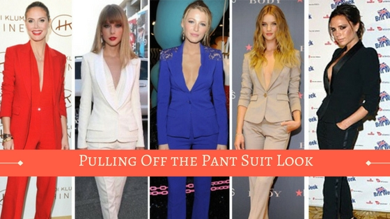 How to Pull Off the Pant Suit Look Like a boss