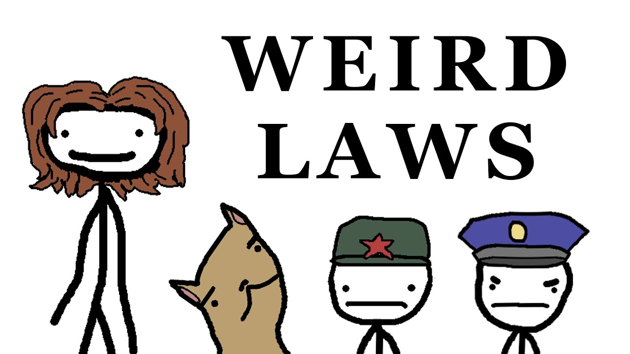 13 Weirdest Laws Around The World