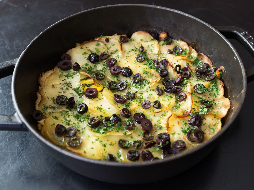 2)	Portuguese Salted Cod, Egg, and Potato Baked Casserole