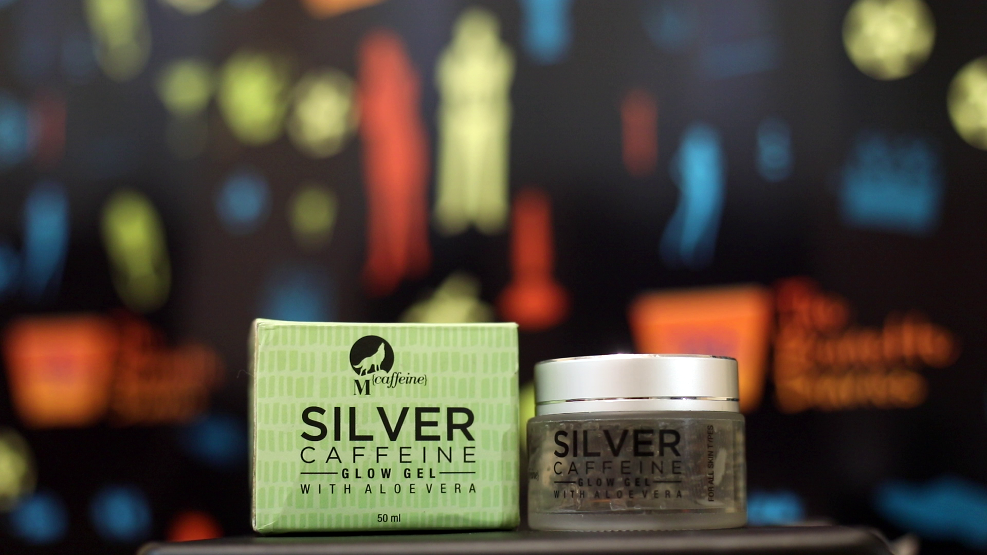 Beauty Product Review:  Mcaffeine Silver CAFFEINE Glow Gel