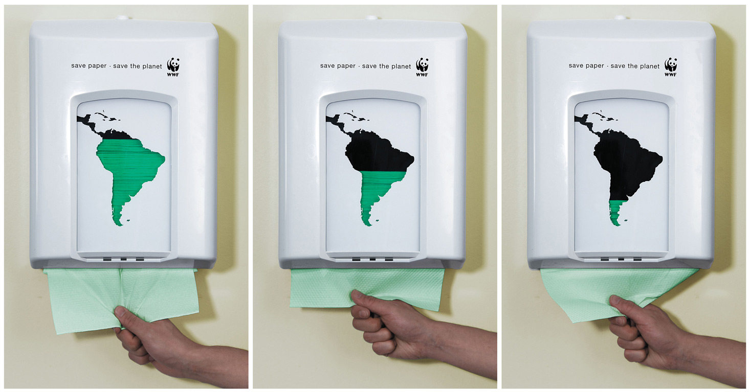 These Green Ads Will Urge You To Be The Change